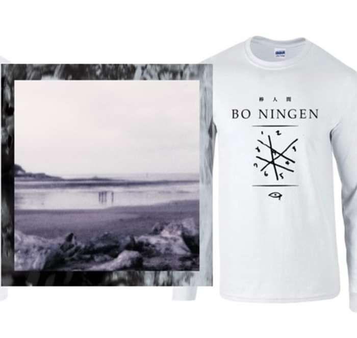 New - BO NINGEN: Rebuilt - Blood Red Double Vinyl & Long Sleeve T-shirt - Bo Ningen