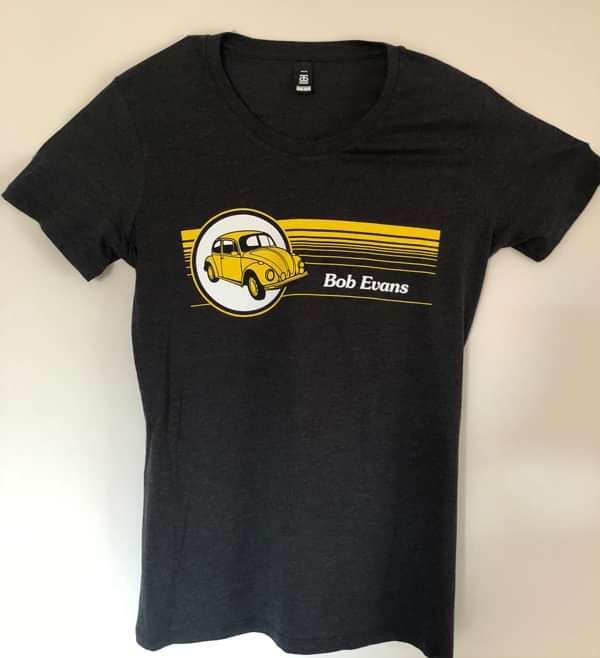Car Boot Sale T-Shirt - Charcoal - Bob Evans