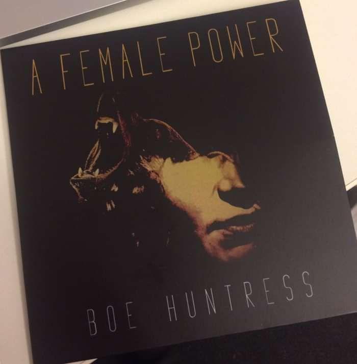 A FEMALE POWER EP ON CD - Boe Huntress