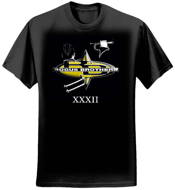 Mens XXXII Album Cover T-Shirt - Bogus Brothers
