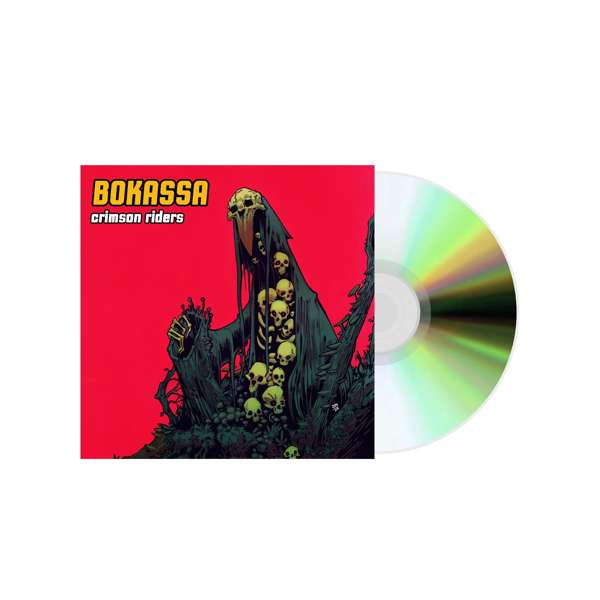 Crimson Riders – Digipack CD - Bokassa