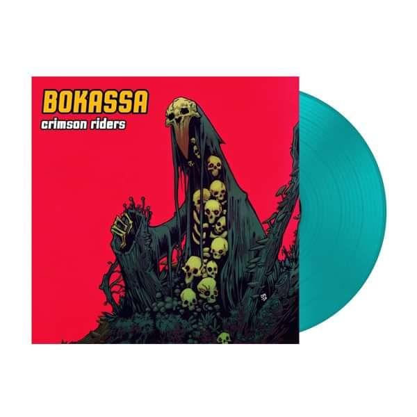 Crimson Riders – Turquoise Vinyl LP - Bokassa