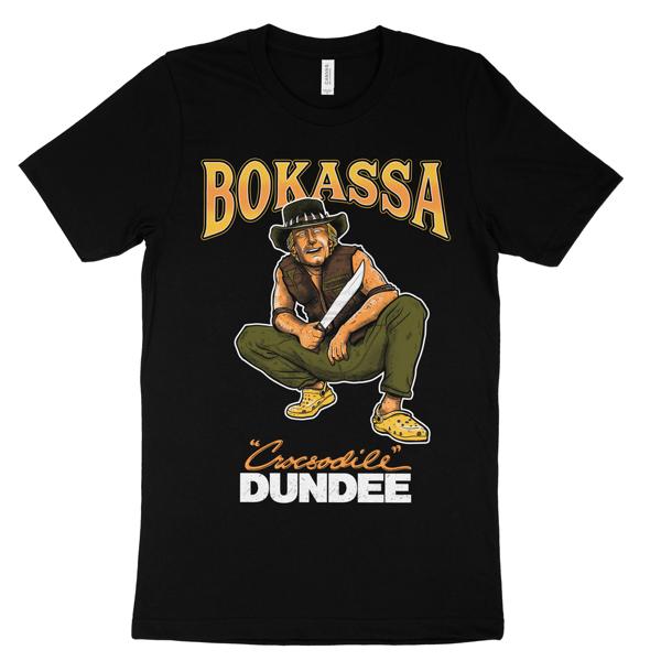 Crocsodile Dundee - Tee - Bokassa