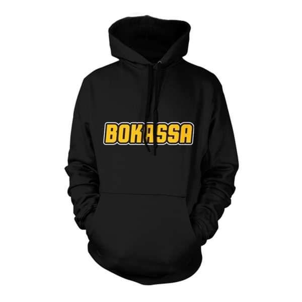OG Logo – Black Hooded Top - Bokassa