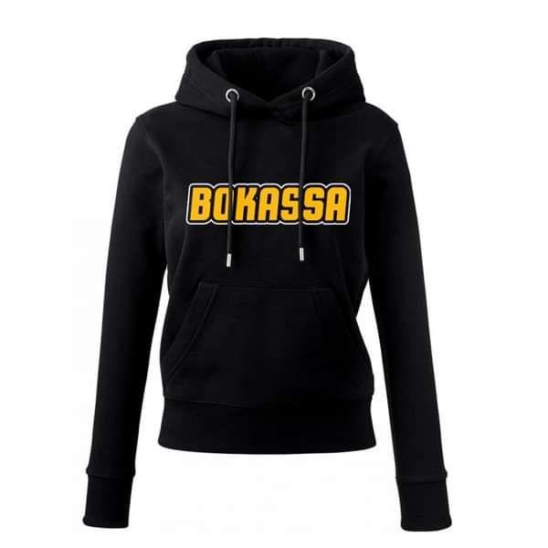OG Logo – Ladies Black Hood - Bokassa