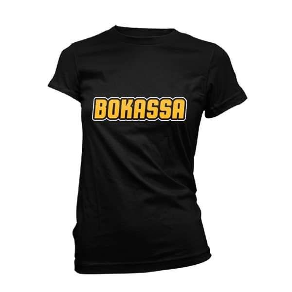 OG Logo – Ladies Black Tee - Bokassa