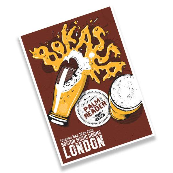Signed London May 22nd Event Poster – A2 Litho Print, 100 Only - Bokassa