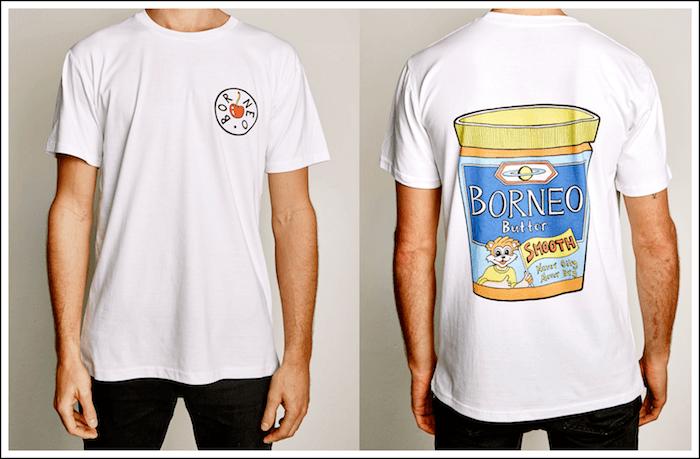 T-Shirt - Borneo Butter - Borneo