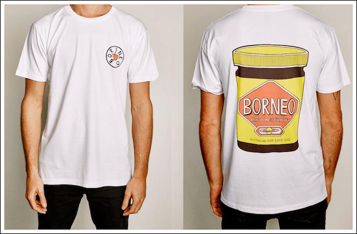T-Shirt - Borneo Veggie - Borneo