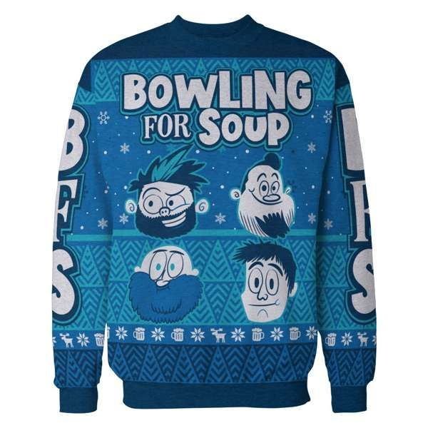 Band – Custom Knit Winter Sweater - Bowling For Soup