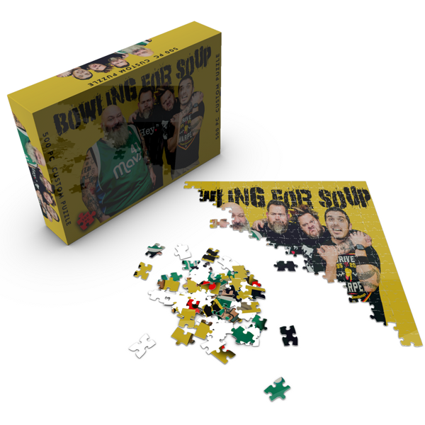 Band Photo – 500 Piece Jigsaw Puzzle - Bowling For Soup