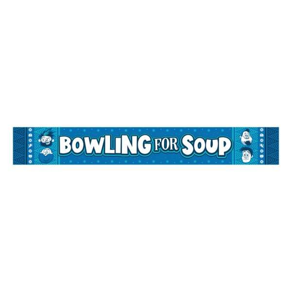 Logo – Custom Knit Winter Scarf - Bowling For Soup