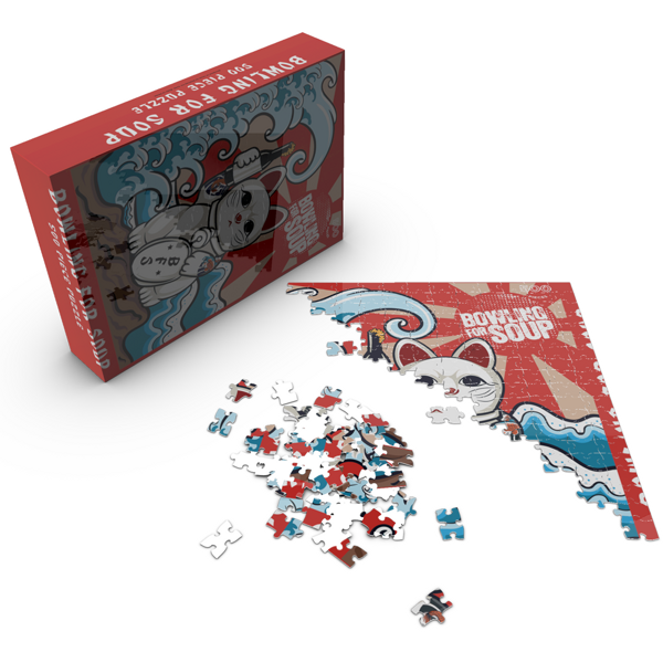 Lucky Cat – 500 Piece Jigsaw Puzzle - Bowling For Soup