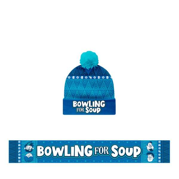 Scarf and Beanie Bundle - Bowling For Soup