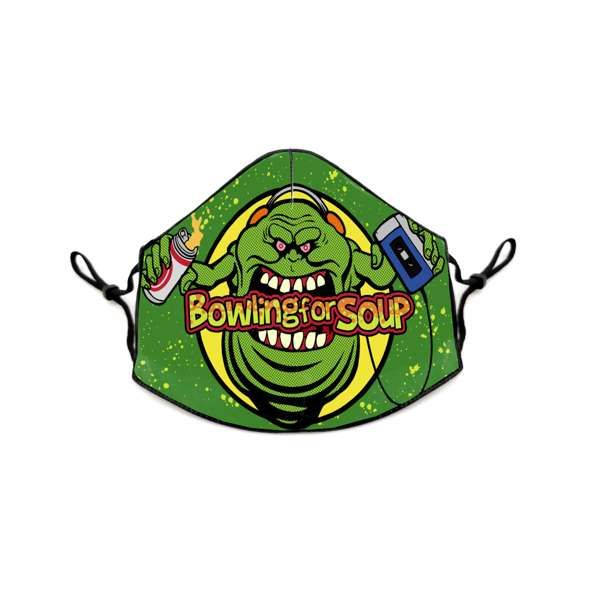 Slimer – Face Covering - Bowling For Soup