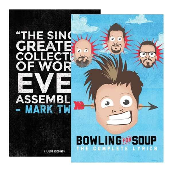 The Complete Lyrics (Unsigned) - Book - Bowling For Soup