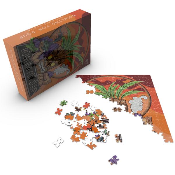 Tiki – 500 Piece Jigsaw Puzzle - Bowling For Soup