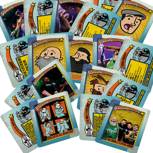 Trading Card Pack - Signed - Bowling For Soup