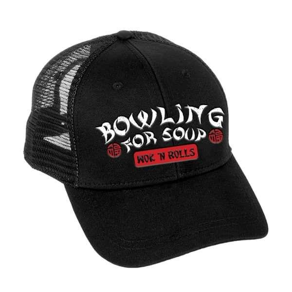 Wok 'N' Rolls - Trucker Cap - Bowling For Soup