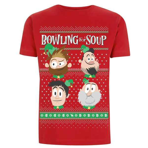 Xmas – Red Tee - Bowling For Soup