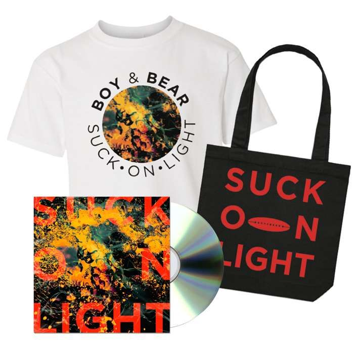Suck On Light – CD Bundle - Boy & Bear US