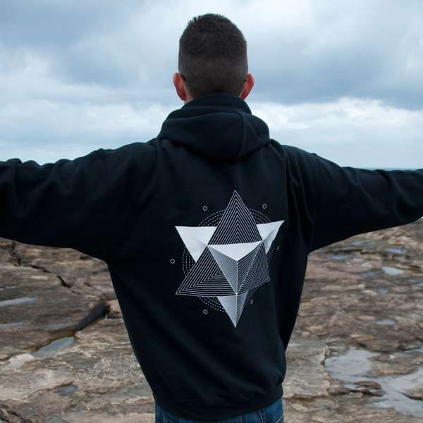 Black Prism Hoodie - Breaking Orbit