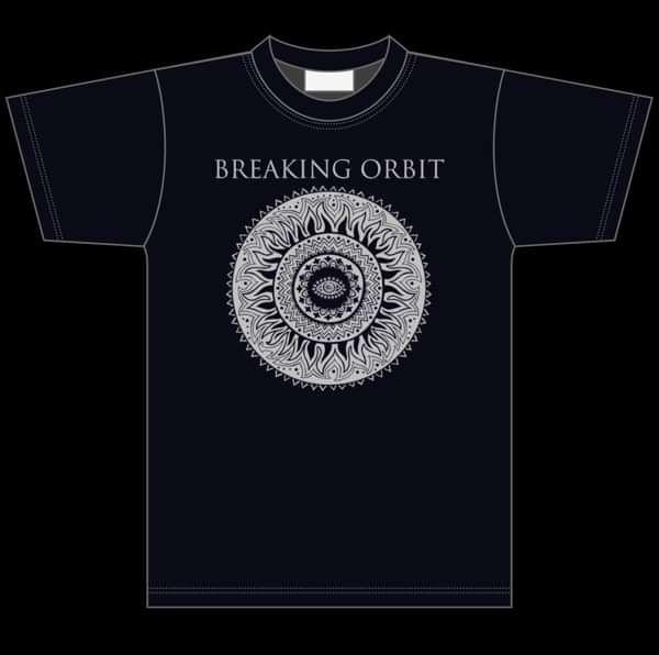 Circle of Light Mens Tee - Breaking Orbit