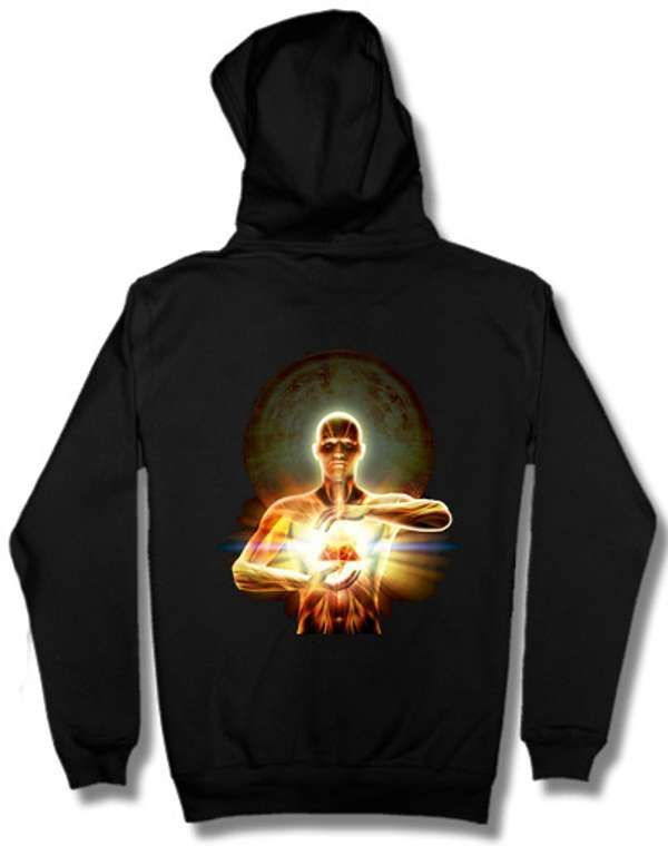 The Time Traveller Album Art Hoodie - Breaking Orbit
