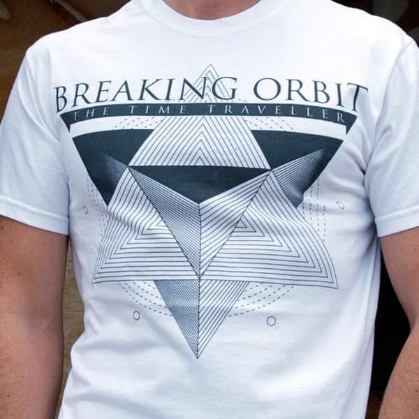 White Prism Mens Tee - Breaking Orbit