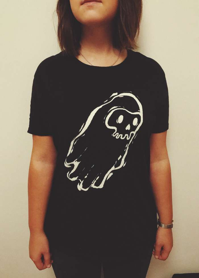 Ghost Logo Tee - BRIDGES