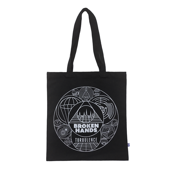 "Canvas 12"" vinyl bag - Broken Hands"