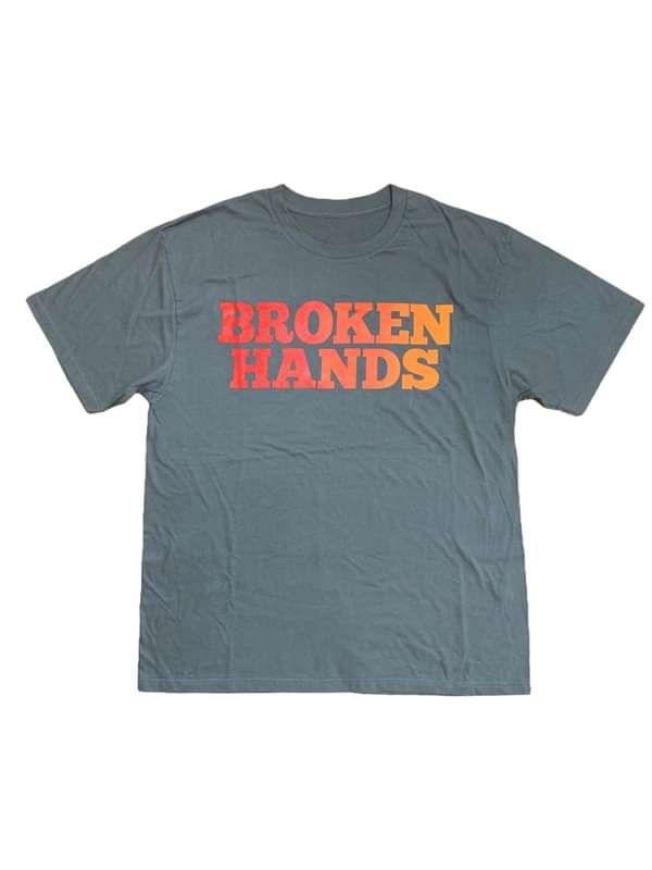 Grey/Multi T-Shirt - Broken Hands