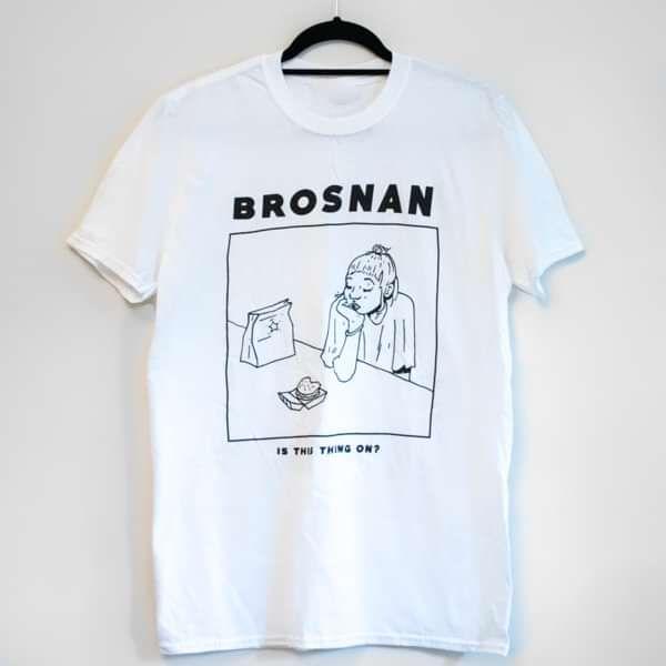 BROSNAN T-Shirt (White) - BROSNAN