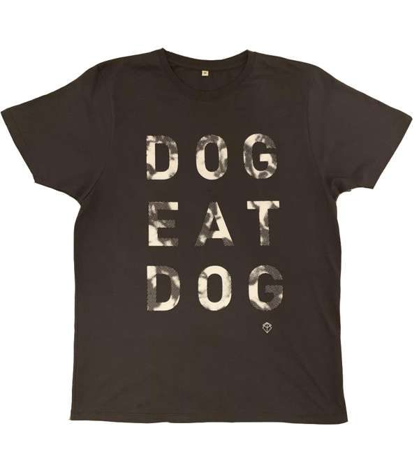 Mens 'Dog Eat Dog' T-Shirt + FREE EP - Brother & Bones