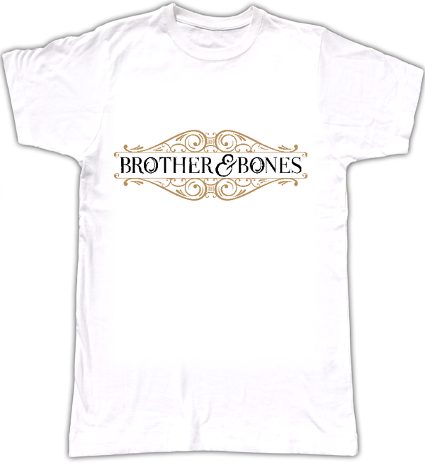 Men's Logo T-Shirt - WHITE - Brother & Bones