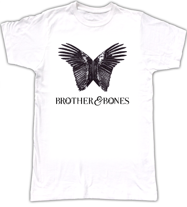 Mens 'Wings' Art T-Shirt - WHITE - Brother & Bones