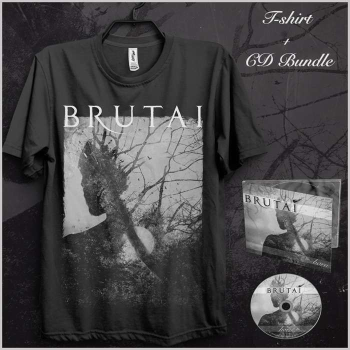 CD + Born T-Shirt - Brutai
