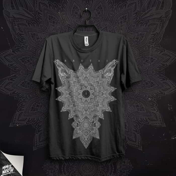 Mandala T-Shirt (Black) - Brutai