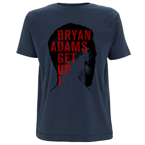 Back Head Shot (UK & Europe 2016) - Blue Tee - Bryan Adams
