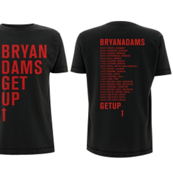 MTV Unplugged Bryan Adams Mens Leisure Hooded Sweatshirt Black