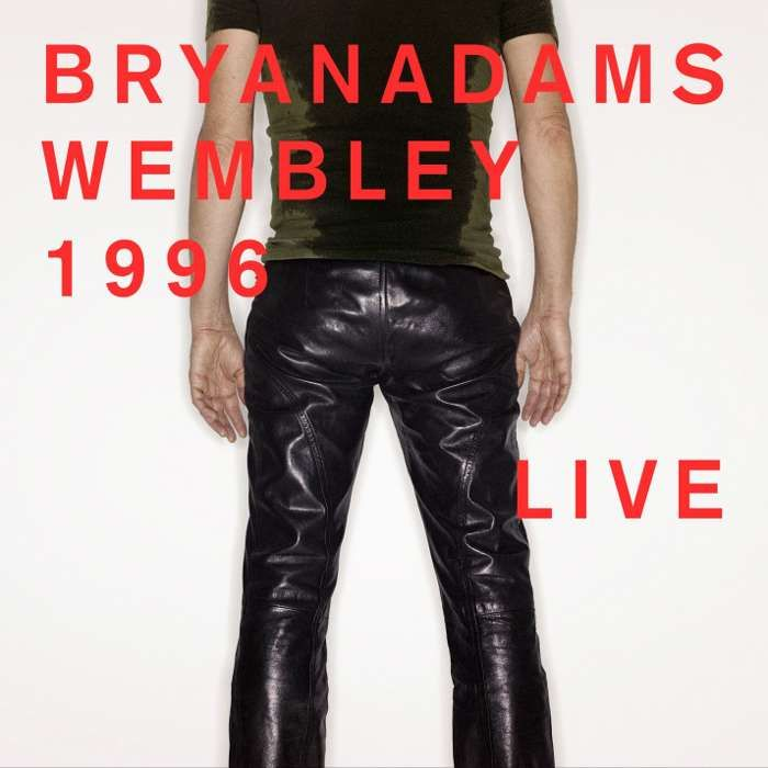 Wembley 1996 Live – Double CD - Bryan Adams