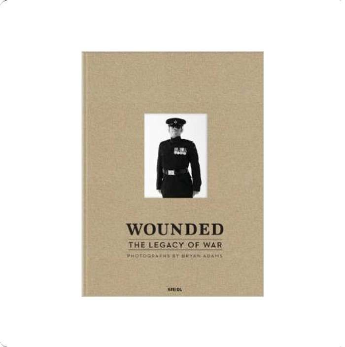 Wounded - Hardback Book - Bryan Adams