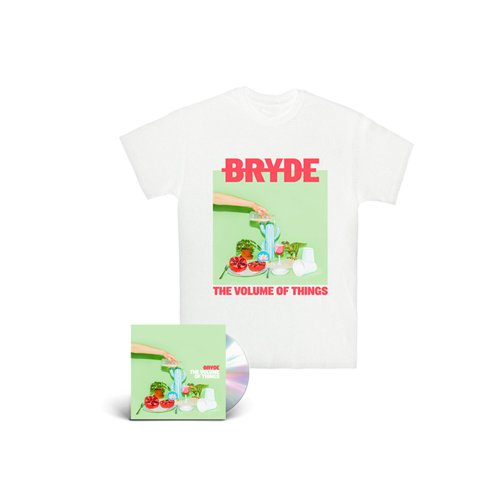 T-shirt and Album bundle - Bryde