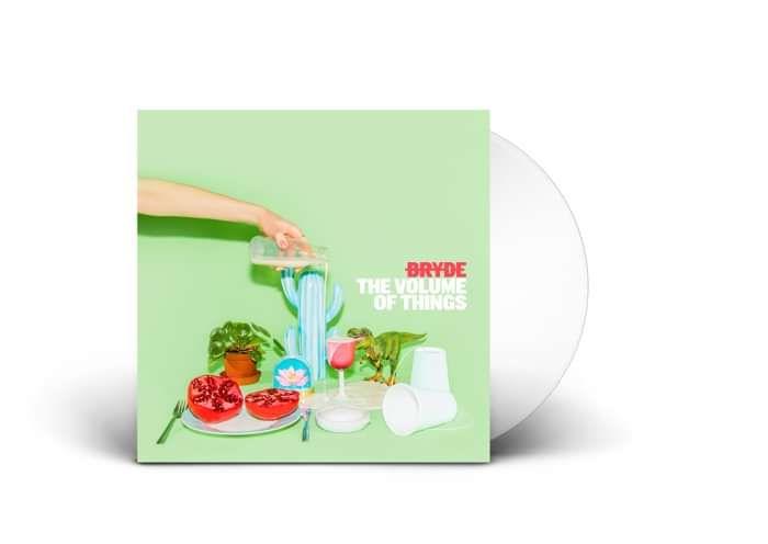 The Volume of Things Vinyl (White) Ltd Edition - Bryde