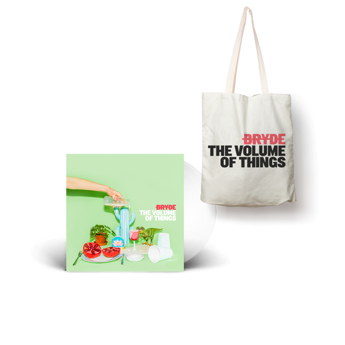 Vinyl and Tote Bag bundle - Bryde