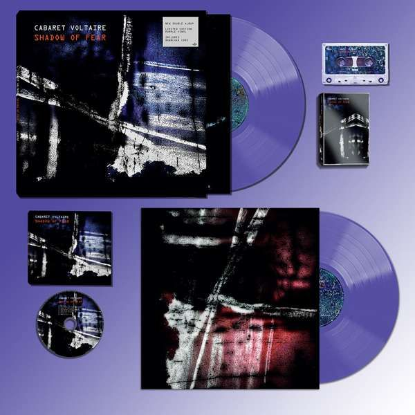 Cabaret Voltaire - Shadow of Fear 2xLP, CD, Cassette Bundle - Cabaret Voltaire
