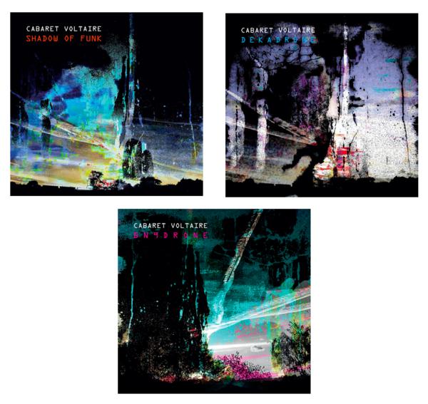 """Cabaret Voltaire - Shadow of Funk, Dekadrone, BN9Drone 12"""" Bundle - Cabaret Voltaire"""