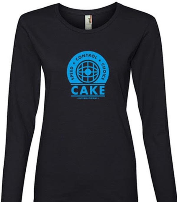 Ladies Long Sleeve Speed*Control*Choice - CAKE