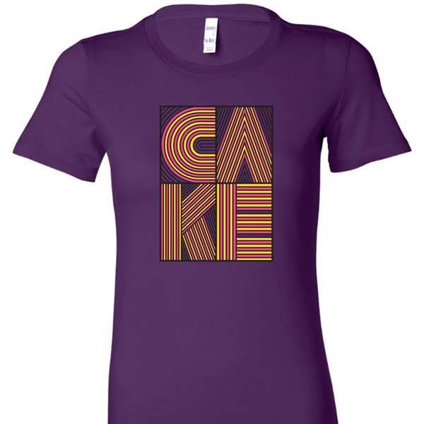 Ladies Stacked Logo - CAKE