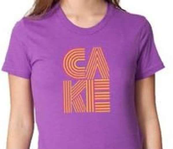 Ladies Stacked Logo - CAKE